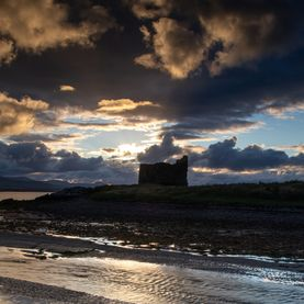 McCarthy Mór Tower House, Ballinskelligs Bay, Iveragh Peninsula