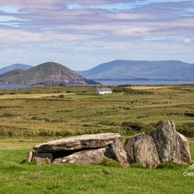 Wedge Tomb, Coom, Ballinskelligs, Iveragh Peninsule